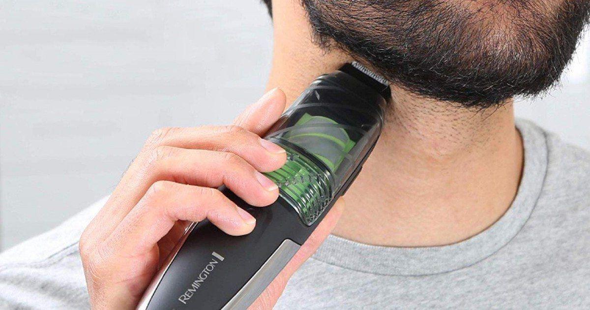 Test de la tondeuse à barbe Remington MB6850