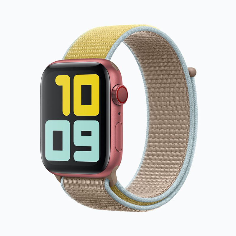 Apple Watch Series 5 RED au printemps
